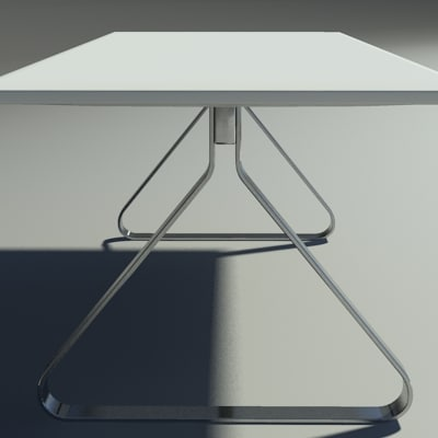 3d model fjord table square - Fjord table square... by Mak21