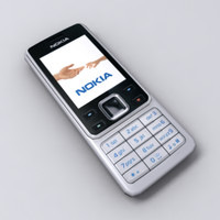 3d model nokia 6300 cell phone