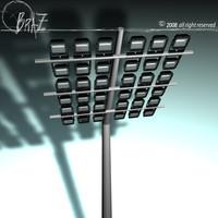 c4d arena lights