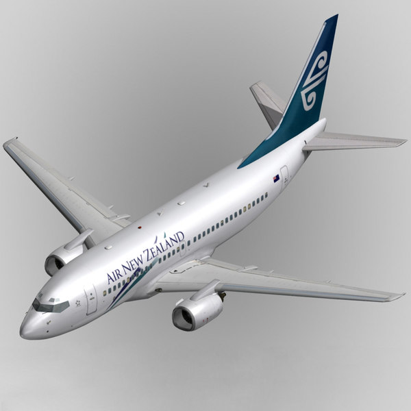 b737-300 air new zealand max - B737-300 Air New Zealand... by 3Dplanemodels