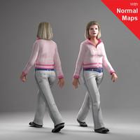 axyz human 3ds