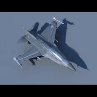 f-16 52d 3d 3ds