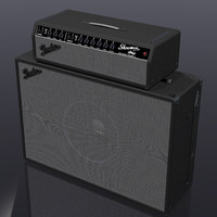 amp amplifier 3d model