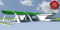 Gas Station V8