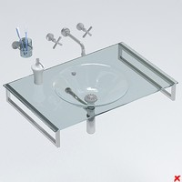 sink basin 3ds