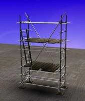 3d model of scaffold