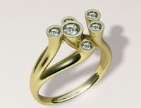 "Woman""s ring17.5mm modelB061v001"