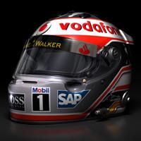 Fernando Alonso F1 Helmet
