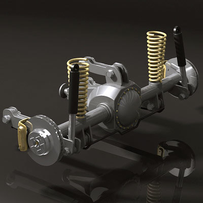 mcpherson suspension v8 engine max - Automotive Set... by QLEE