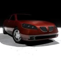 concept pontiac g6 3d max