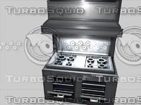 c4d cooker hobs oven