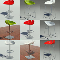 3d fjord stool