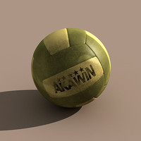 3ds max volleyball dirty ball