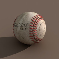 Baseball Dirty Ball