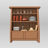 lwo cartoon cabinet