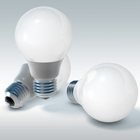 3d model of light bulb