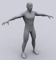 3d animation ready character male
