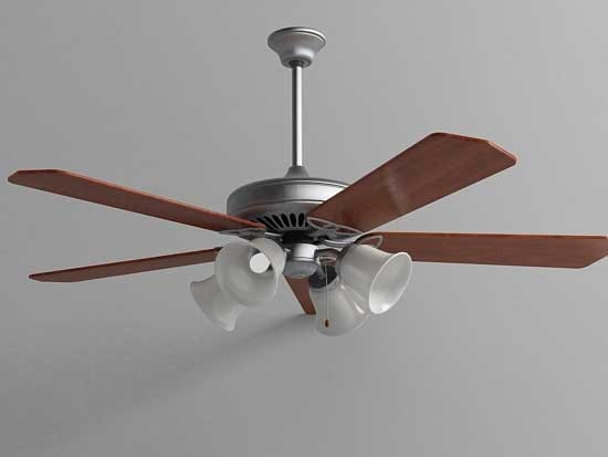 maya ceiling fan light