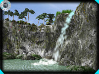 waterfall (scene/effects)