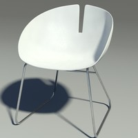 Fjord armchair stainless