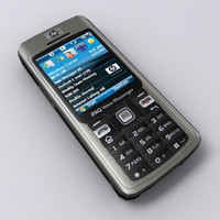 3d model ipaq 514 cell phone