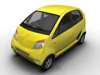 3d car tata model