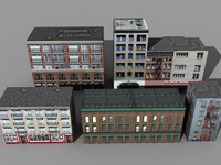 5 buildings b 3ds