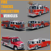 FIRE  TRUCKS  COLLECTION
