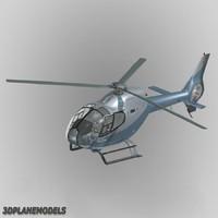3d eurocopter ec-120b helistar ec model