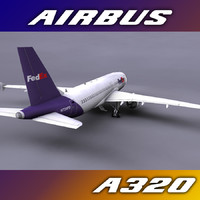 3d airbus a320 freight