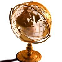 Vintage Desk Globe