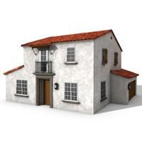 c4d house