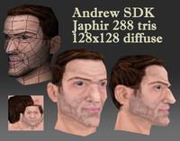 Andrew Male Head
