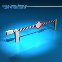 Boundary automatic barrier