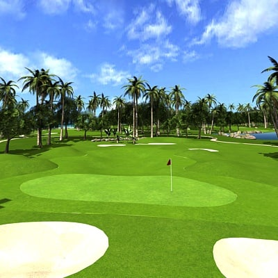 3d golf course - Golf Course... by morihuela
