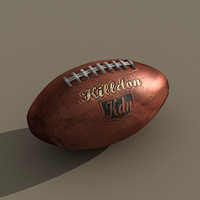 max american football dirty ball