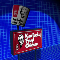 Kentucky Fried Sign 01