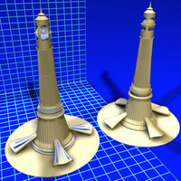 3d lighthouse complex 01