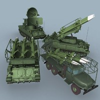 sa-6 battery 3d model