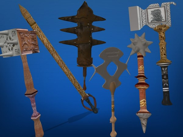 3ds max weapons pack - weapons pack... by daniel2311