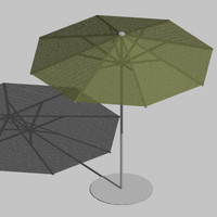 3ds max patio umbrella