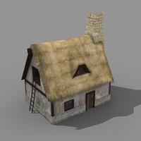 building rpg house 3d model