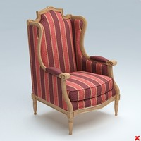chair lounge 3d model