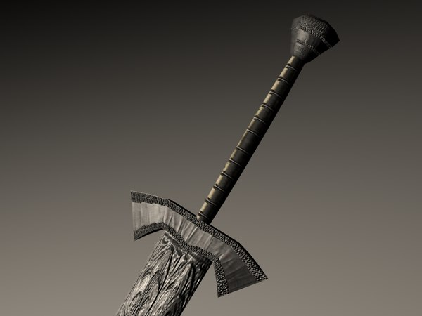 maya sword - High-Quality Low-Poly Sword... by samurairyu
