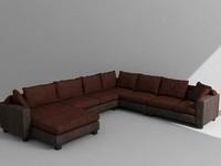 3d model of sofas
