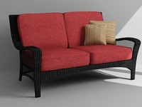 outdoor loveseat 3d max