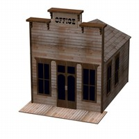 western house 3d 3ds