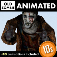 3dsmax zombie death