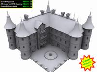 3d castle ready