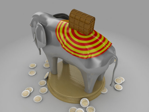 toy elephant dwg - fil_vray.zip... by Yusuf ES